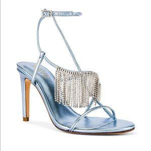 RAYE diamond heels